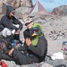 Lunch at Camp Schurman