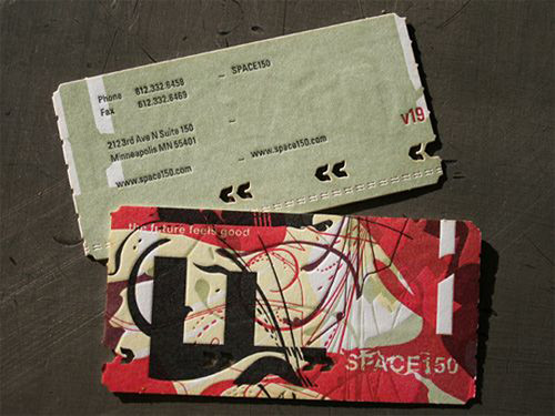Space 150's Business Card | by BusinessCardDesignIdeas