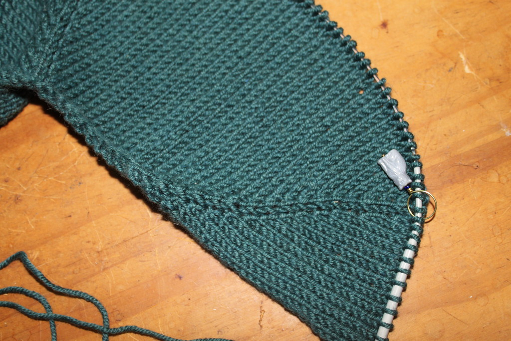 Knitting Joining Raglan Seams : Raglan seam sleeve increases making the quot