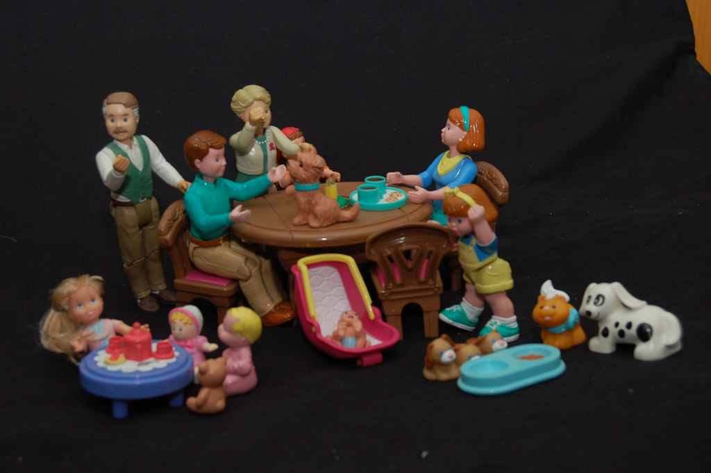 Fisher Price Loving Family Dollhouse Dinning Table | Flickr