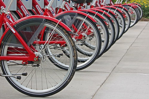 Line of Bicycles | by mclcbooks