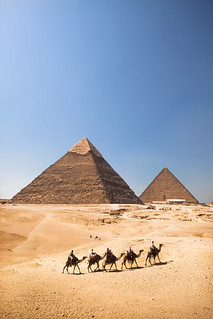 'The Pyramids', Egypt, Giza, Pyramids | by WanderingtheWorld (www.ChrisFord.com)