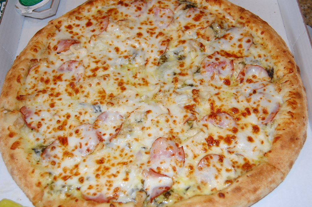 Papa John S Cheesy Chicken Cordon Bleu Pizza Mollysnyder