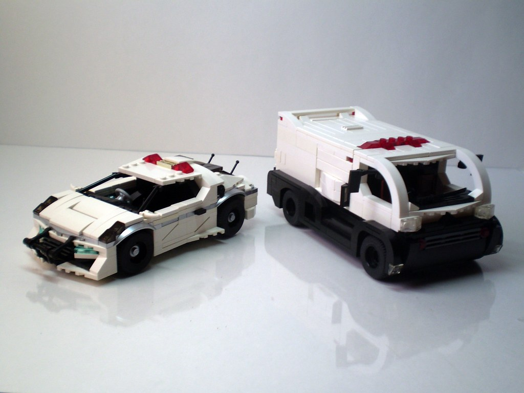 Futuristic Japanese Police Vehicles My First Entry For