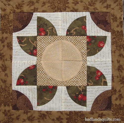 Eagle Creek Hand Quilting Class: Last Block Pieced! | by badlandsquilts