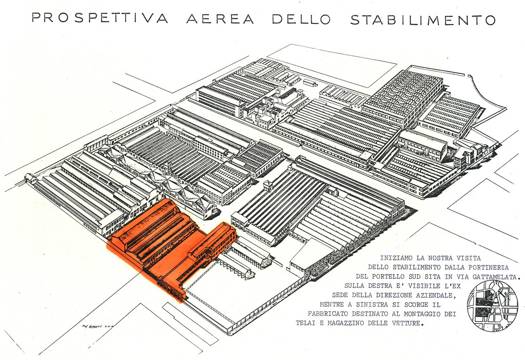 stabilimento alfa romeo portello a milano