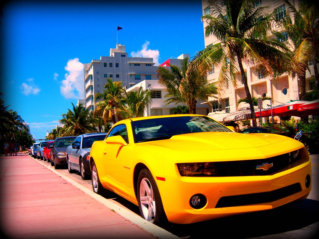 Miami Beach Is Visited By Hundreds Of Thousands Of Tourists