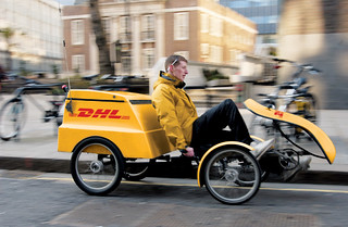 DHL GoGreen: Quadracycle | by Deutsche Post DHL