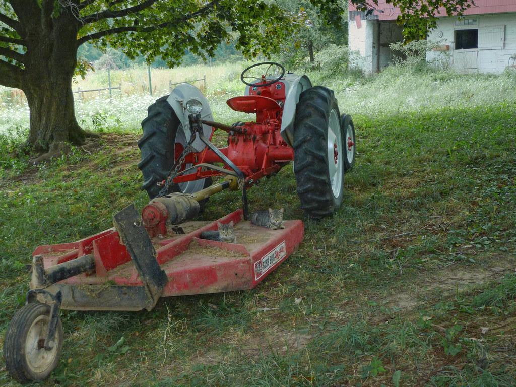 Brush Hog Chains : Ford n with bush hog mower ns were the