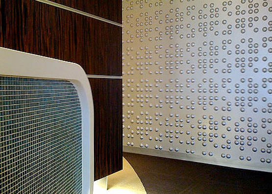 ... Braille Wall Flat Commercial Installation | By Inhabit Living