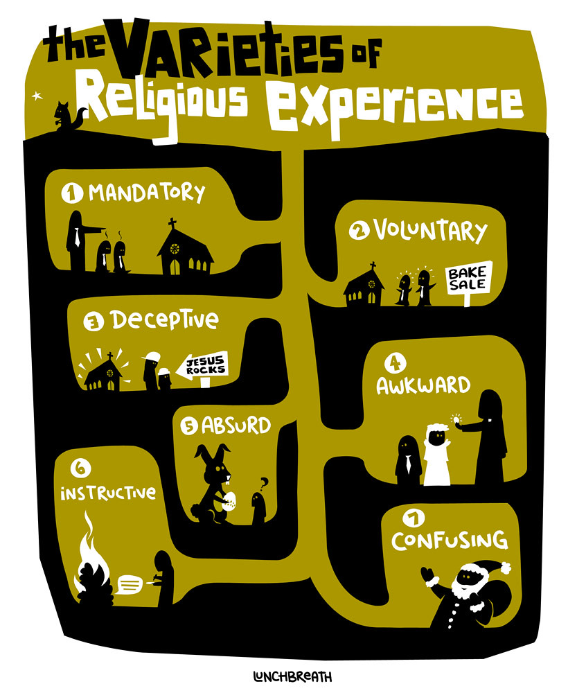 The Varieties of Religious Experience | With apologies to Wi… | Flickr