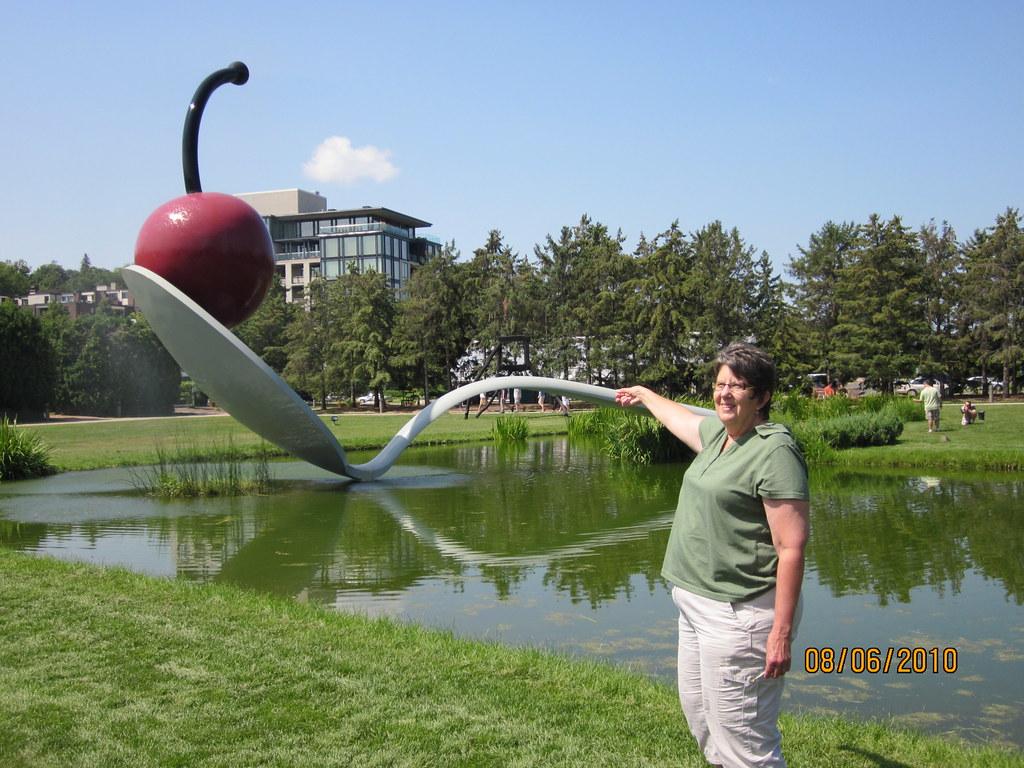 Minneapolis Sculpture Park My New Spoon Visit A Park Toda Flickr