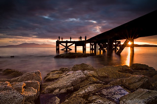 Portencross Pier | by Peter Ribbeck