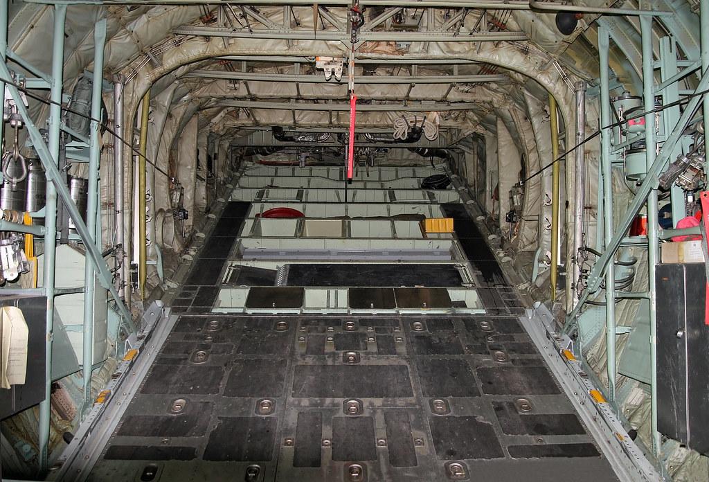 ... Lockheed C 130A Hercules 57 0485 Aft Ramp | By Dlberek