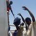 Unloading in Sudan