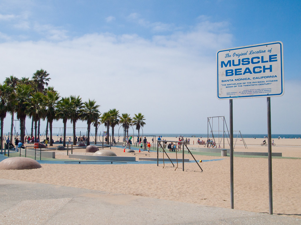 Muscle Beach California  Ef Bf Bdtats Unis