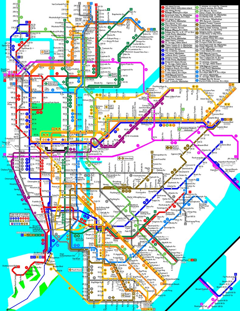 My subway Map | My updated map | Cinema34 | Flickr