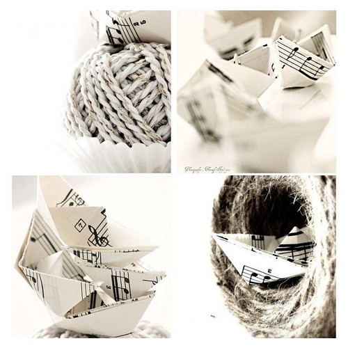 The adventures of little, music, paper boats | by Iro {Ivy style33}