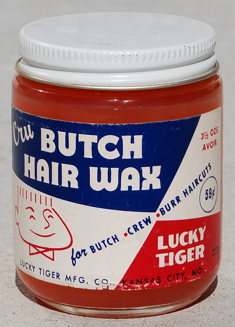 Lucky Tiger Cru Butch Hair Wax, 1958 | Roadsidepictures | Flickr