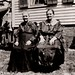 My paternal great-great aunt Leah Smith Harris and my paternal great-grandmother Bertha Smith Longmore, after immigrating to Thompsonville, CT, circa 1915