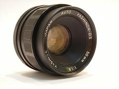 Yashinon 50mm f1.9