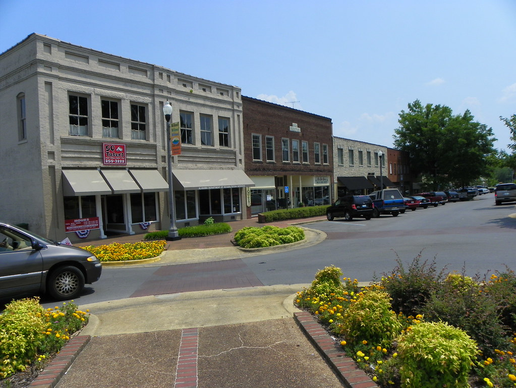 Beaitful Beautiful Downtown Scottsboro Alabama Scottsboro Is The