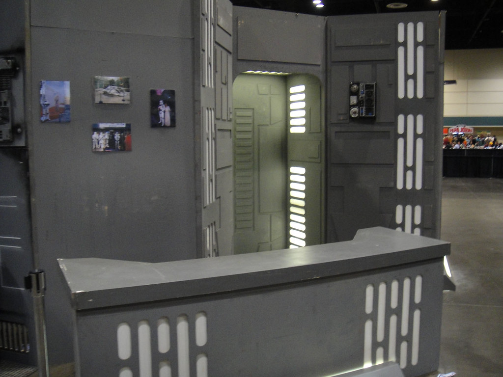 Star Wars Celebration V Death Star Hallway Recreation