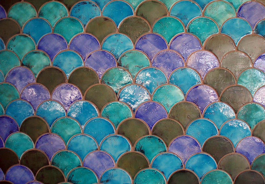 Scale Tiles Texture Sydney Aquarium Alan Flickr