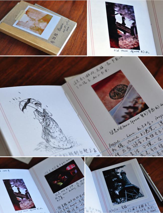 Classroom Design Journal Articles : Polaroid travel journal m square