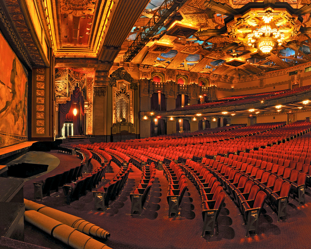 View Of Orchestra Pantages Theatre Hollywood Wendell