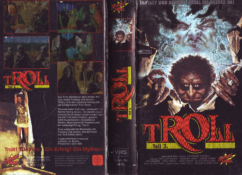 Troll (cover 3) (VHS Box Art) | by Aeron Alfrey