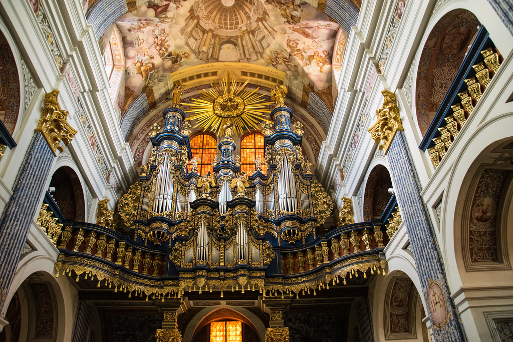 Orgel I Kyrka I Polenorgan In Church In Poland Sanktuari Flickr