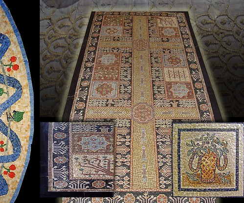 Mosaici per pavimenti milano rivestimenti mosaico for Pavimenti mosaici per interni