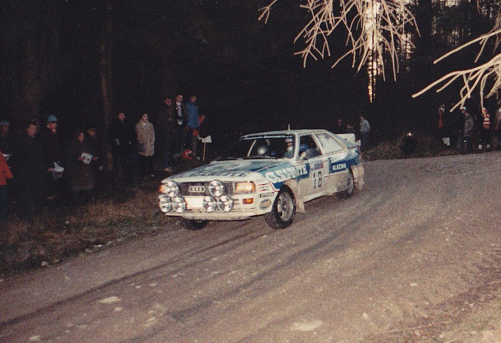 1983 Rac Rally Car 18 Audi A2 Quattro 1983 Rac Rally