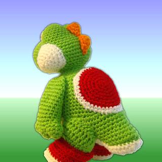 Yoshi Pattern Amigurumi Crochet PDF | Etsy | 320x320