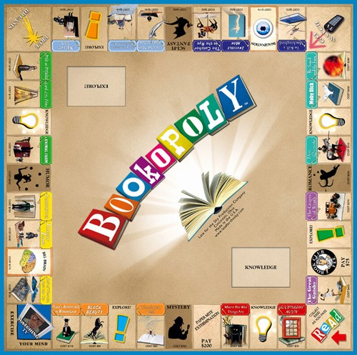 Bookopoly | Bookopoly board, one of the board games for ...