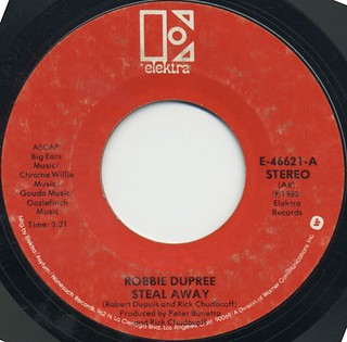 Robbie Dupree Steal Away - I'm No Stranger