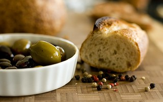 Bread and Olives | by kganes