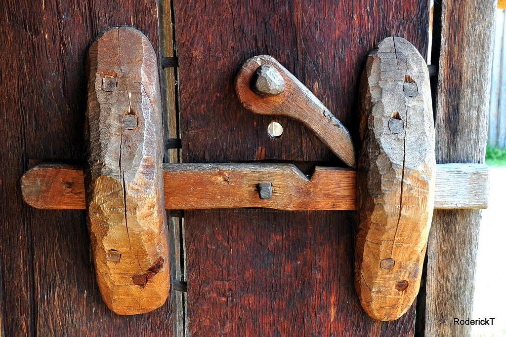 Dsc 1700 Wooden Door Locks West Stow Anglo Saxon Village T