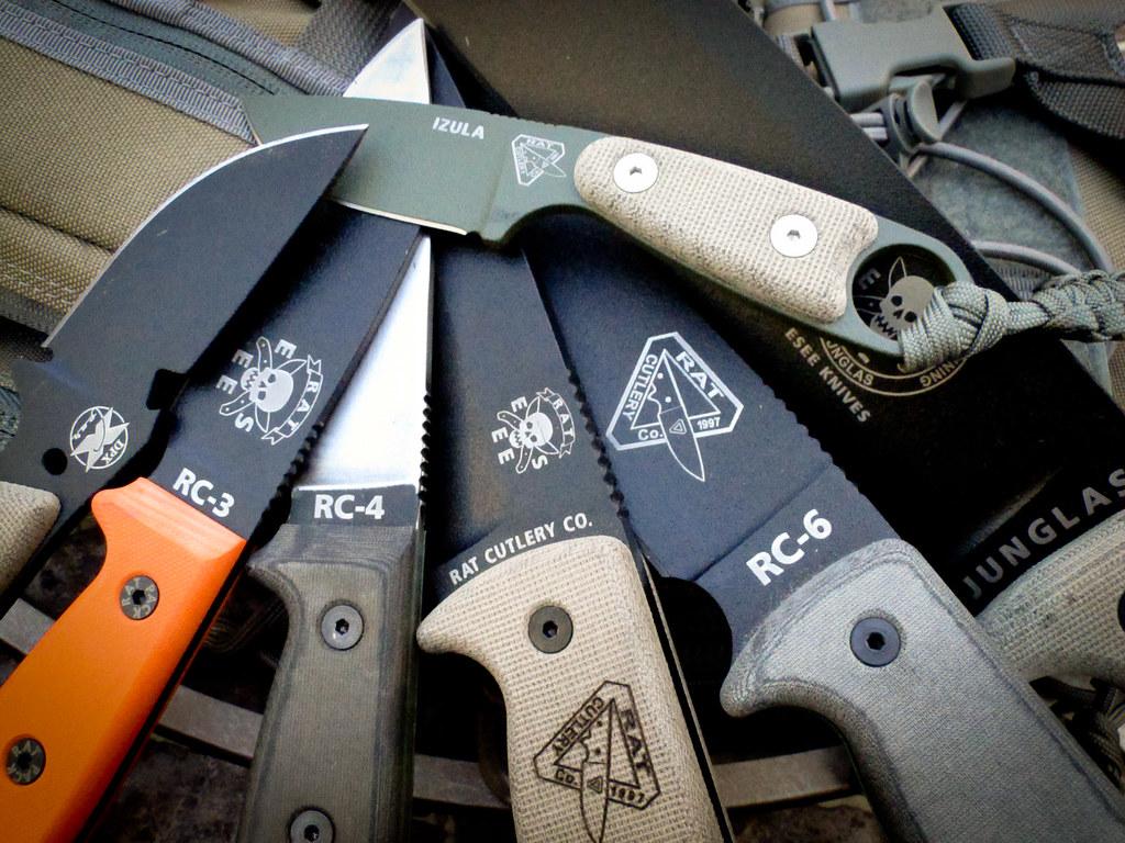 Rat Knives Rc-5 Knives Hest Rc-3 Rc-4 Rc-5