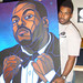 "Rodney ""Darkchild"" Jerkins with his TTW Painting"