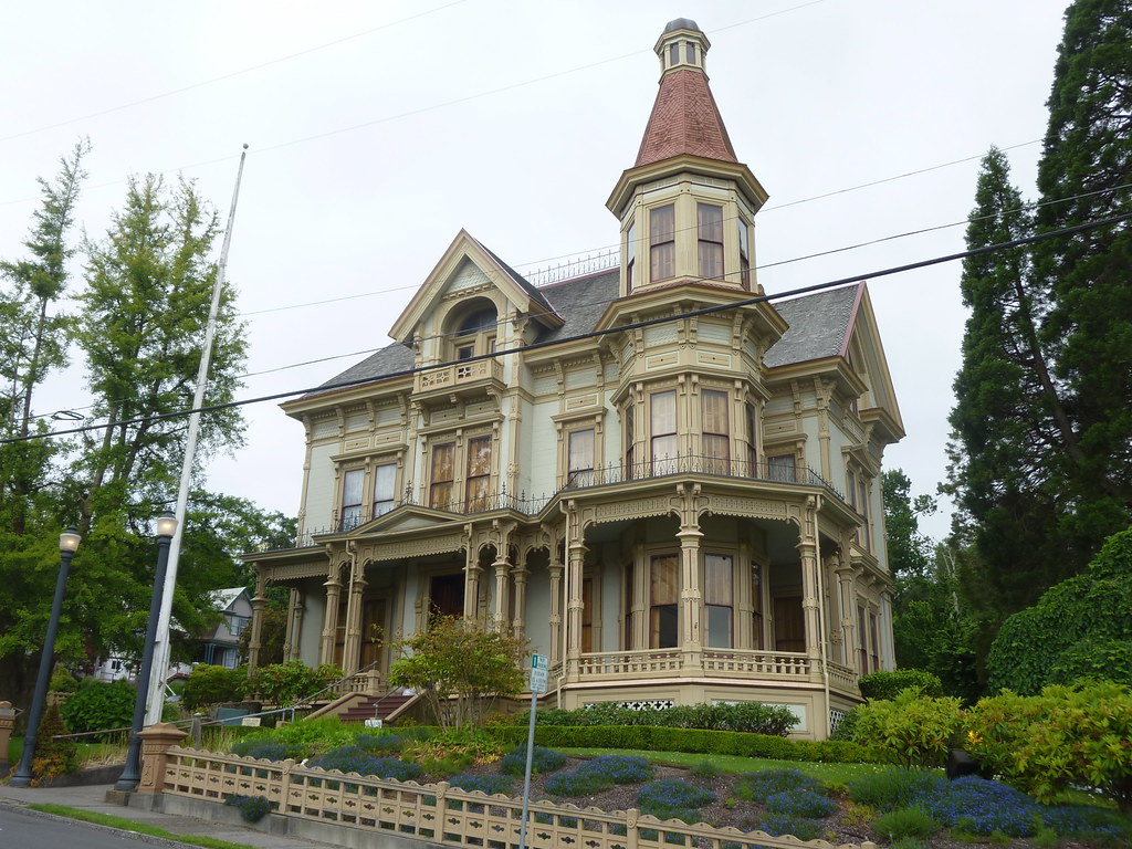 Captain George Flavel house museum, Astoria | Leon Reed ...