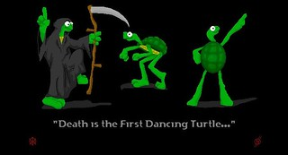 death is the first dancing turtle | by romandriver