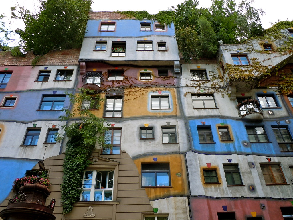Hundertwasser House Architect Friedensreich
