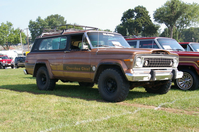 Jeep Cherokee Chief With Wagoneer Grill | PA Jeeps All ...