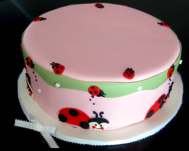 lady bug baby shower cake this cake was made for a baby sh