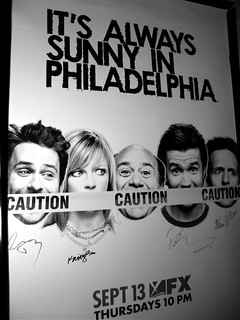 Our Signed It's Always Sunny Poster | by Ungerwhere