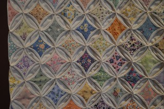 Cathedral window close-up, SMofA quilt show 2010 | by vickivictoria