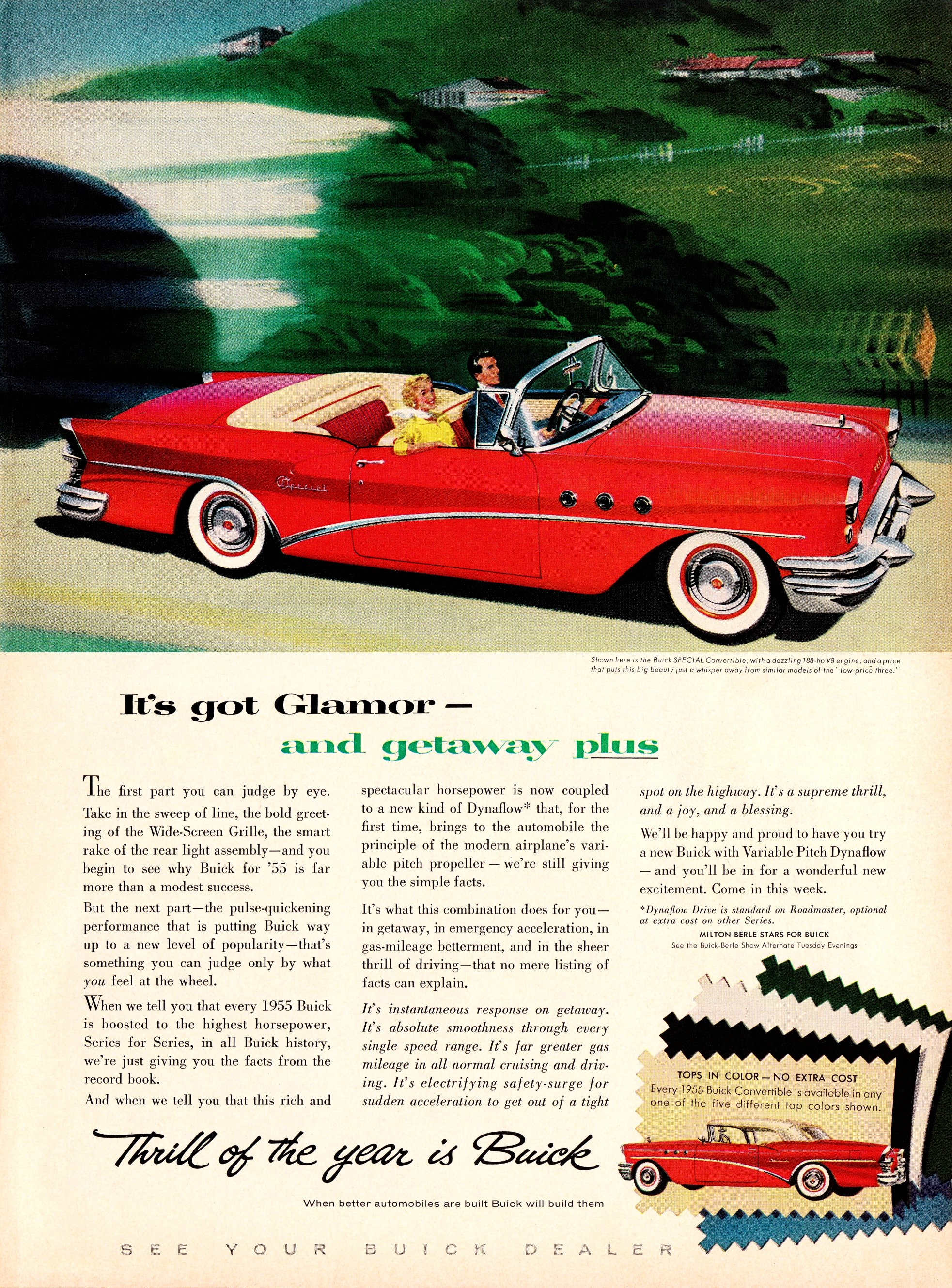 1955 Buick Special Convertible - published in Life - March 7, 1955