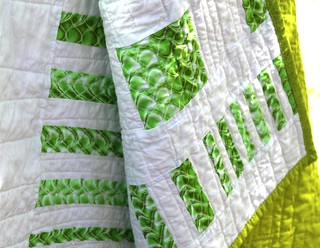 Green Bars Quilt | by Peppermint Pinwheels